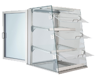 IDEAL AKE - Self-service display cases