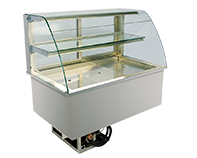 IDEAL AKE - Open built-in refrigerated display cases
