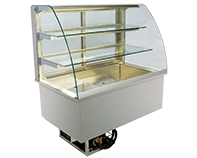 IDEAL AKE - Built-in refrigerated display cases