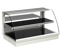 IDEAL AKE - Built-in heated display cases