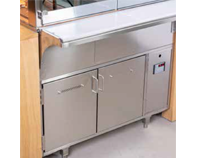 IDEAL AKE - Hot Storage, Dispaly cases with dry heat